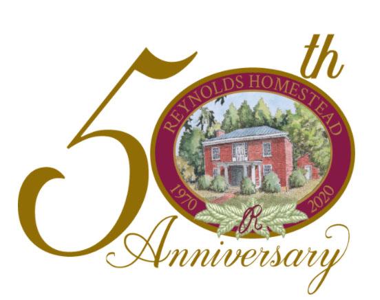 Reynolds Homestead 50th Logo
