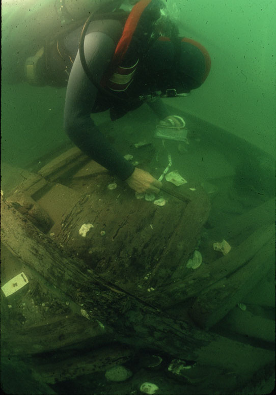 Photo of underwater archaeology