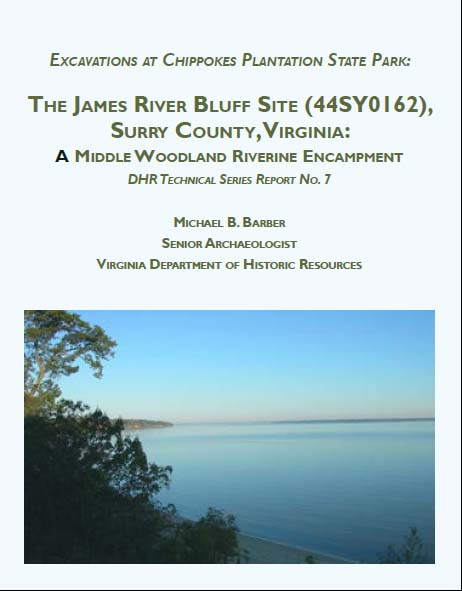 cover James River Bluff report