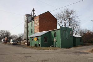 Buildings in the Chase City Warehouse and Commercial Historic District.