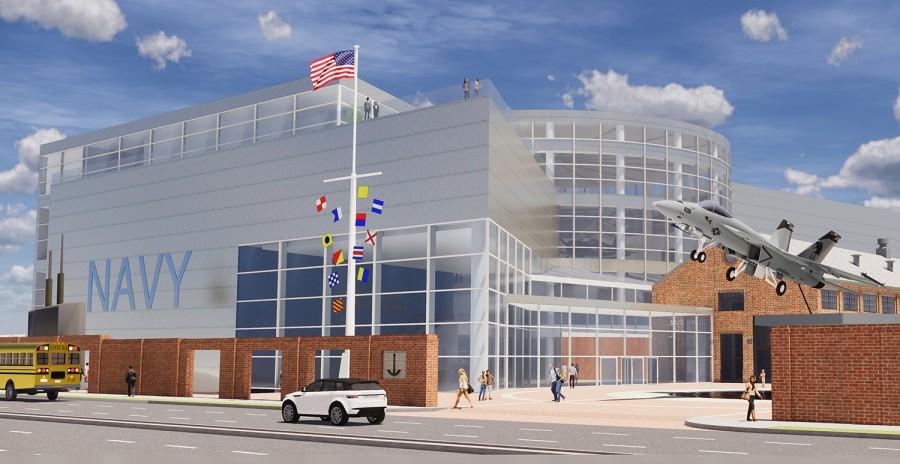 Naval Museum rendering