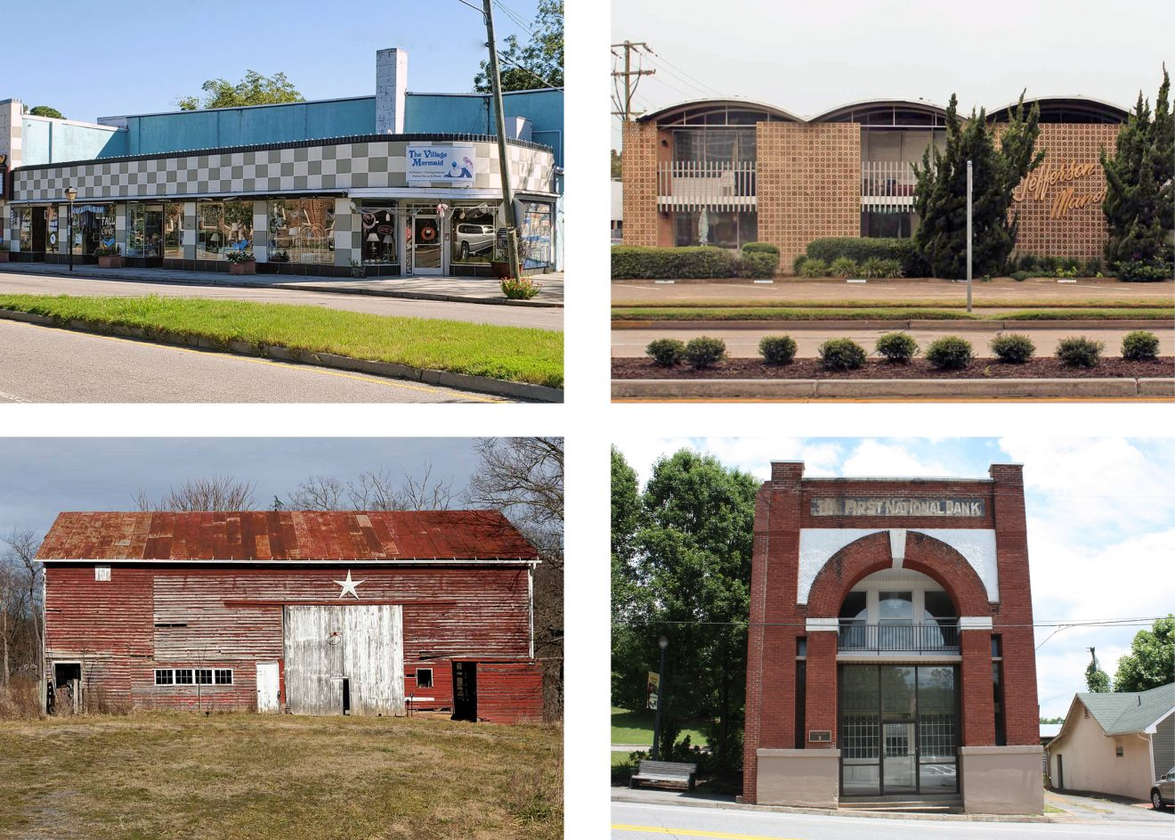 Four buildings to be nominated to VLR and NRHP in March.