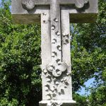 """Living Cross. Also known as the """"living cross"""", a symbol of life everlasting in association with Biblical teaching."""
