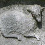 LAMB: purity, innocence, associated with the agnus dei or lamb of God.