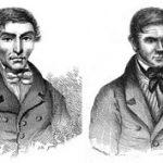 Engravings of Hale and Burke