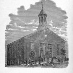 Drawing of Manchester church