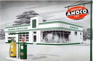 Classic Amoco station design
