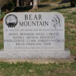 Monument at Bear Mountain Cemetery