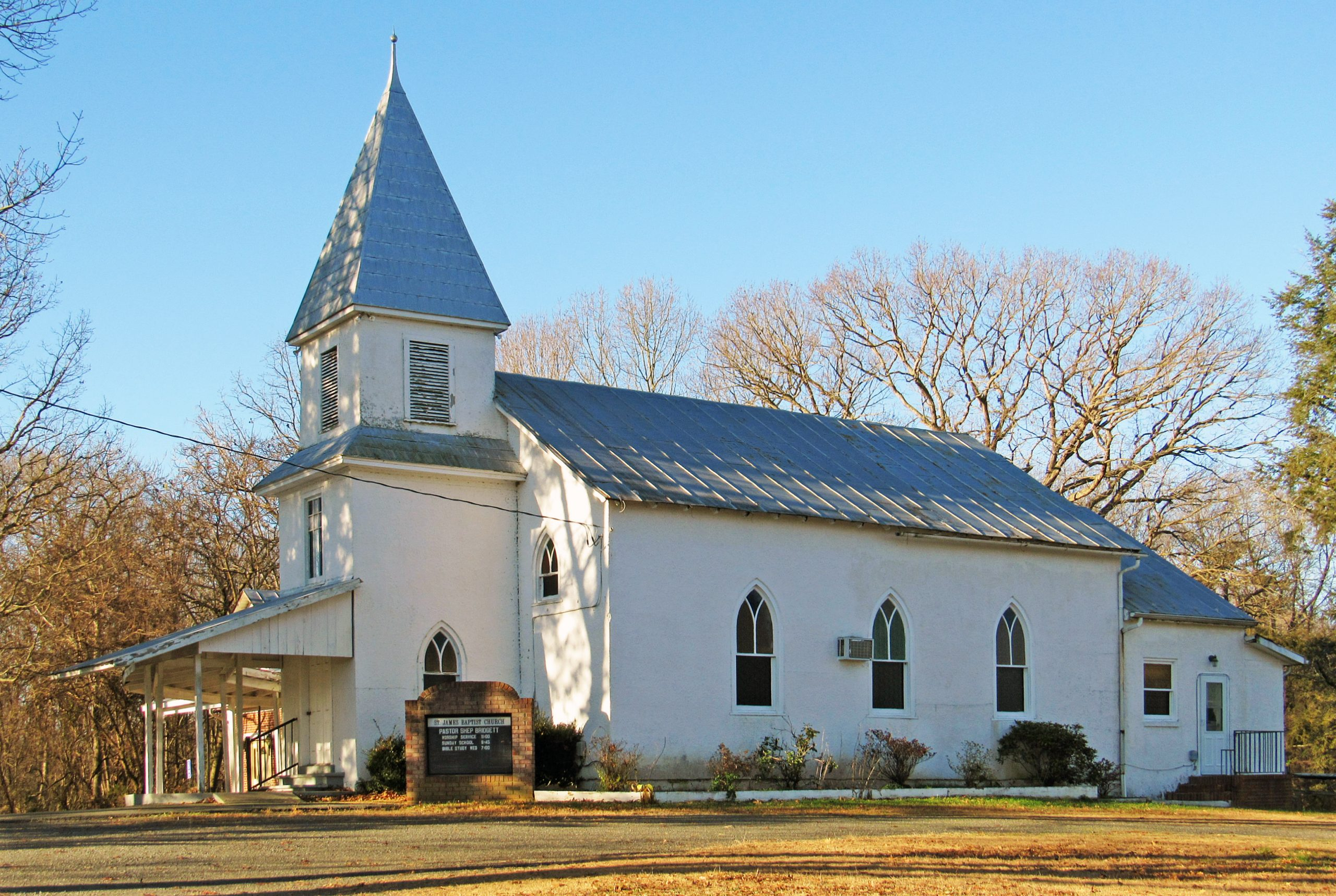 St. James Baptist Church and Cemetery