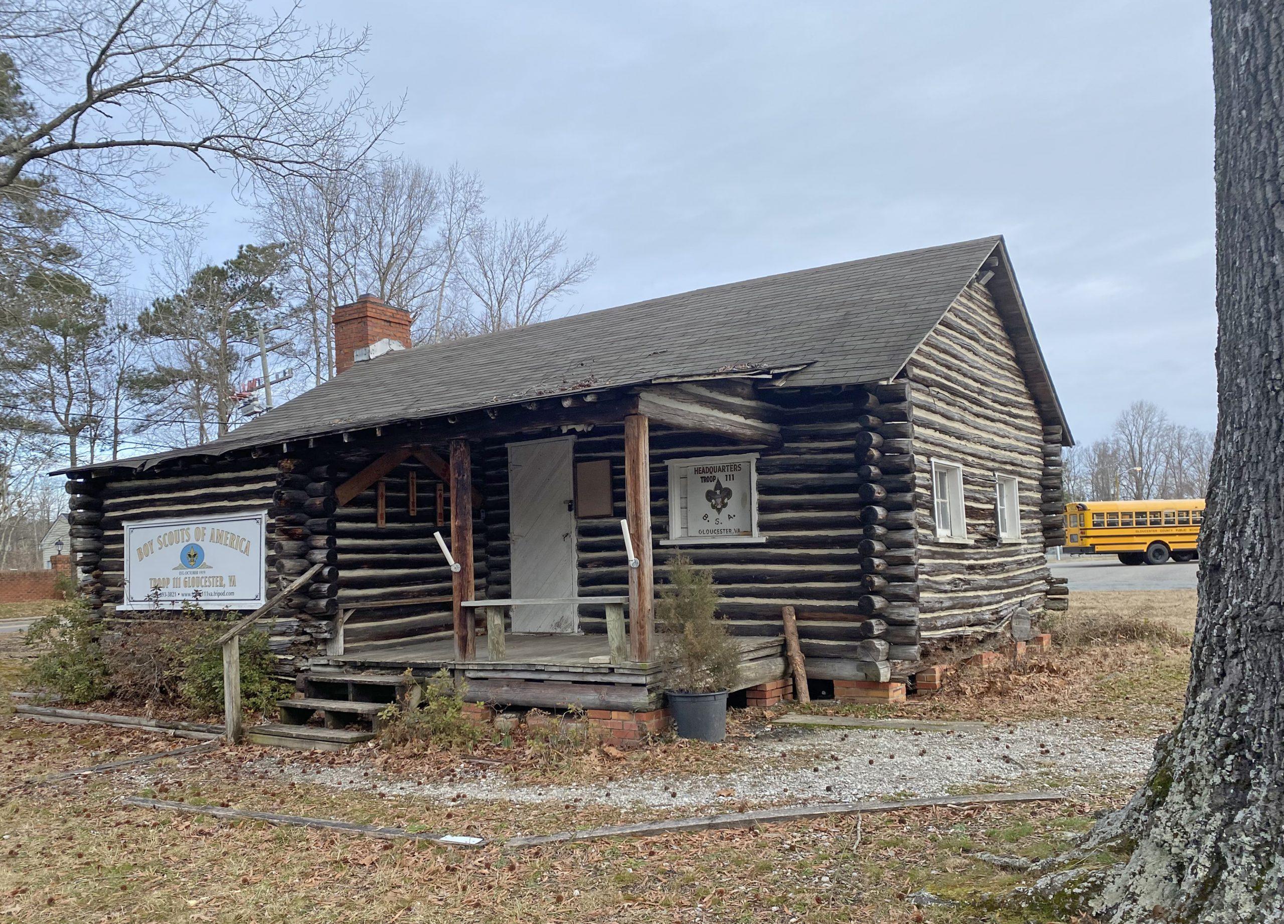 Troop 111 Boy Scout Cabin