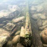 Underwater timber