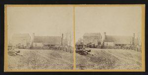 Civil War-era photo of Todd's Tavern